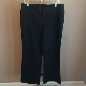 3/$30 Banana Republic Wide Leg Black Slacks Sz 10